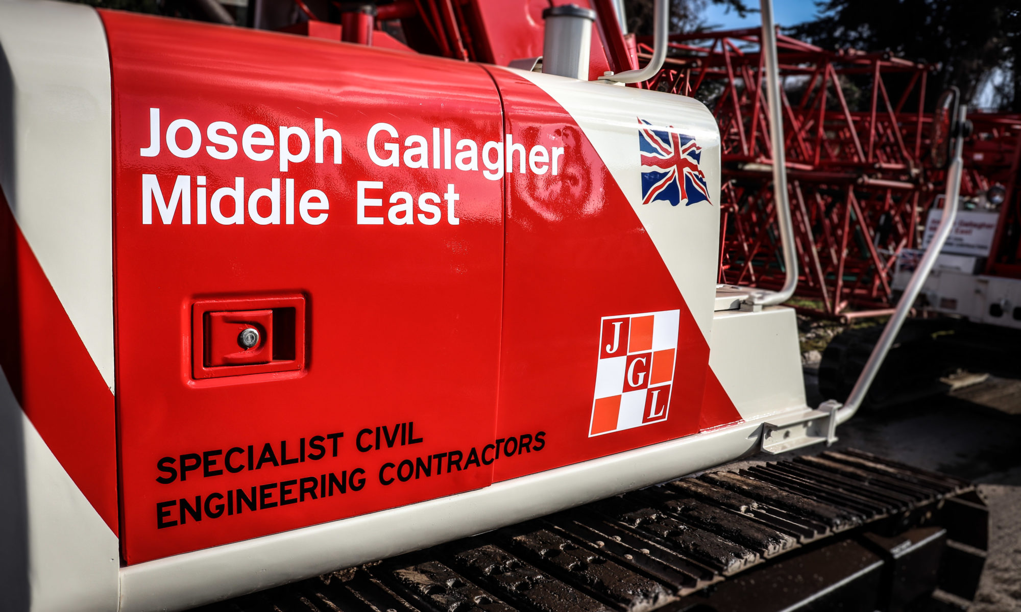 Joseph Gallagher Middle East Crawler Crane