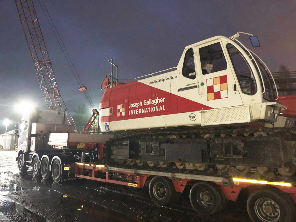 New crane to support microtunnelling project in Middle East